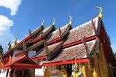 Wat Phra That Doi Kham Buddhist temple — Stock Photo