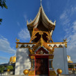 Bell tower in a rural Thai temple, Northern Thailand — Stock Photo #66240023