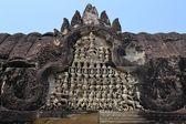 Apsara Dancers Stone Carving at Angkor Wat — Stock Photo