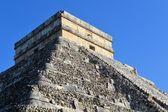 Mayan Kukulcan El Castillo, Chichen Itza, Mexico — Stock Photo