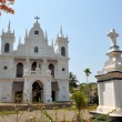 Catholic Christian Village Church, Goa, India — Stock Photo #66925061
