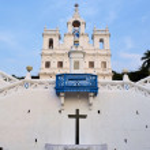Church of Mary Immaculate Conception Panaji, Goa, India — Stock Photo #66925161