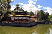 Norbulingka summer palace of Dalai Lama, Tibet — Stock Photo