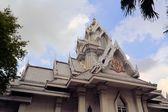 Grey temple at the National Library, Bangkok ,Thailand — Stock Photo