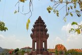 Independence Monument in Phnom Penh, Cambodia — ストック写真