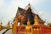 Buddhist temple Wat That in Vang Vieng, Laos — Stock Photo