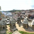 Pashupatinath temple and cremation ghats, Khatmandu — Stock Photo #66970765