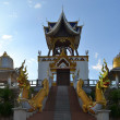 Bell tower in a rural Thai temple, Northern Thailand — Stock Photo #67483677