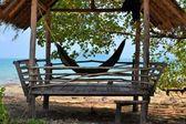Tropical beach hut in Thailand — Stock Photo