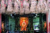 Spiral Incense in Buddhist Pagoda Saigon, Vietnam — Stock Photo
