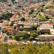 Aerial view of Zacatecas, colorful colonial town, Mexico — Stock Photo #67757133