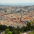 Aerial view of Zacatecas, colorful colonial town, Mexico — Stock Photo #67757169