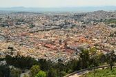 Aerial view of Zacatecas, colorful colonial town, Mexico — Stock Photo