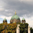 Berlin Cathedral with TV Tower, Germany — Stock Photo #68134307
