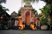 Hindu temple, Ubud, Bali — Photo