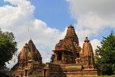 Khajuraho Hindu and Jain temples, India. — Stock Photo
