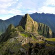 Panorama of Machu Picchu, lost Inca city in the Andes, Peru — Stock Photo #68161415