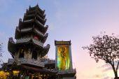 Linh Phuoc Buddhist pagoda, Da Lat, Lam Dong province, Vietnam — Stock Photo
