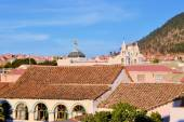Sucre cityscape with Roofs, constitutional capital of Bolivia — Stock fotografie