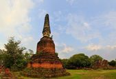 Ruins of Si Sanphet temple in Ayutthaya, Thailand — 图库照片