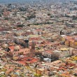 Aerial view of Zacatecas, colorful colonial town, Mexico — Stock Photo #68890939