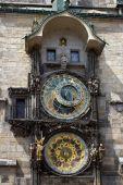 Astronomical Clock - Prague — Stock Photo