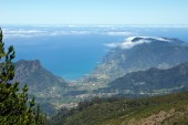 View of the north coast of Madeira — Stock Photo
