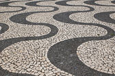 Portuguese stone pattern — Stock Photo