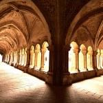 Cloister. Valbuena de Duero. Spain. — Stock Photo #70838023