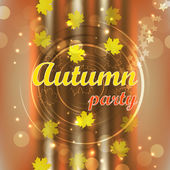 Fiesta de otoño — Vector de stock