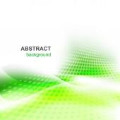 Abstrakt vektor grön bakgrund — Stockvektor