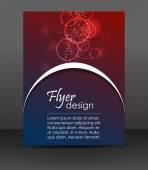 Профессиональный бизнес flyer шаблонов, Дизайн обложки, брошюру или корпоративное знамя — Cтоковый вектор