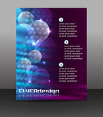 Business flyer template or corporate banner — Stockvektor