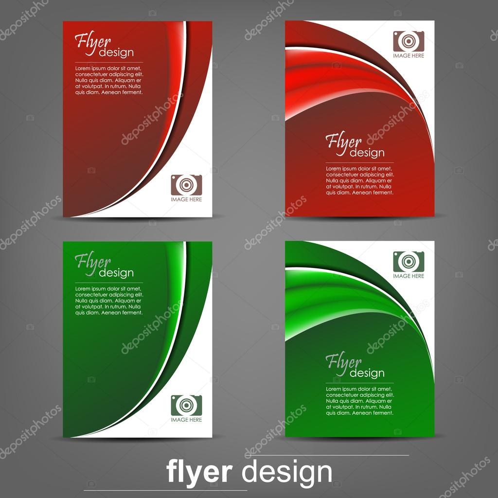 set of business flyer template for cover design document folder set of business flyer template for cover design document folder stock vector 56793633