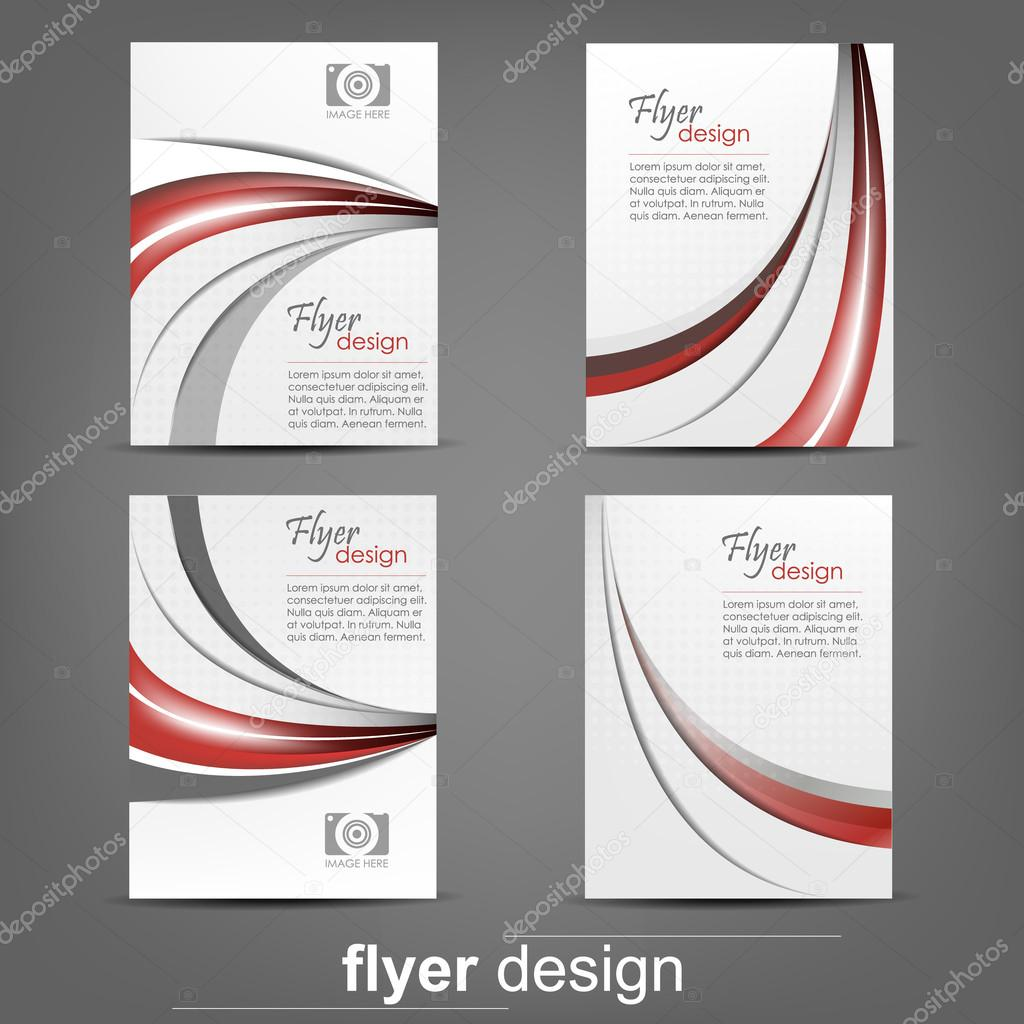 set of business flyer template for cover design document folder set of business flyer template for cover design document folder stock vector 56793649