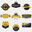 Collection of vintage sales labels and badges — Stock Vector #59542715