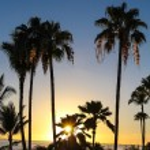 Maui sunset in Hawaii — Stock Photo #56429599