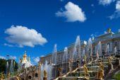Peterhof Grand Palace — Stock Photo