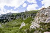 Landscape from Bucegi Mountains, part of Southern Carpathians in Romania — Stock Photo