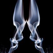 Smoke shapes — Stock Photo