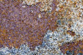 Metallic texture with rust for backgrounds — Photo