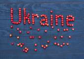 "Inscription ""Ukraine"" — Stock Photo"