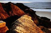 Rock, sea, sky. — Stock Photo