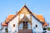 Tempio buddista di wat phumin nan, thailandia — Foto Stock