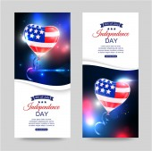 Independence day of the USA — Stock Vector