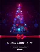 Merry Christmas 2015 celebration concept — Stock Vector