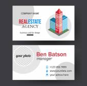 City, real estate brochure template — Stockvector