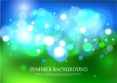 Summer magical background — Stock Vector