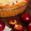 Homemade pie with plum — Stock Photo #59707085