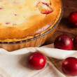 Homemade pie with plum — Stock Photo #59707087